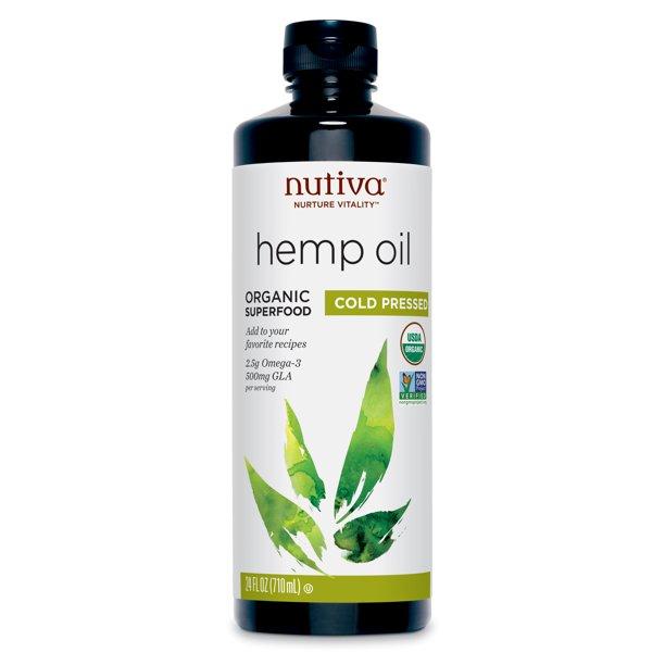 Dầu cho da nhạy cảm Nuvita hemp oil